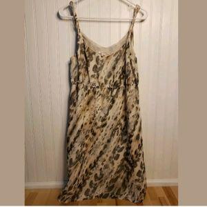 Covington Ivory Polyester Lined Dress Sz 12